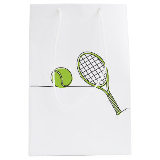 Tennis Lover | tennis gift Medium Gift Bag