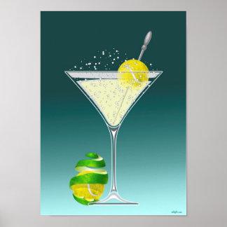 Tennis Martini, tennis Poster