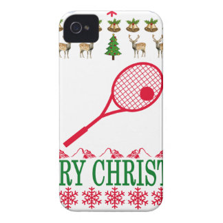 TENNIS MERRY CHRISTMAS . iPhone 4 Case-Mate CASE