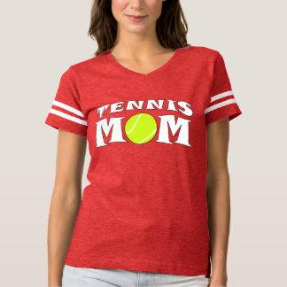 Tennis Mom Custom Football-Style Jersey Shirt