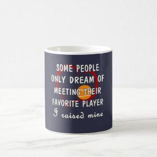 Tennis Mom Favorite Player Coffee Mug