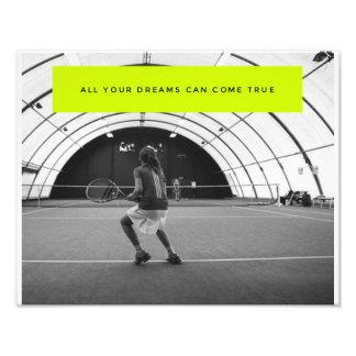 Tennis Motivational Poster - Inspiration