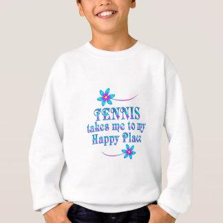 Tennis My Happy Place Sweatshirt