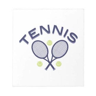 Tennis Notepads