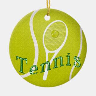 Tennis Ornaments