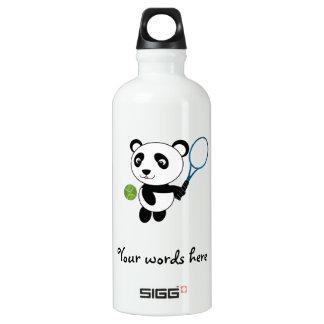 Tennis Panda Water Bottle