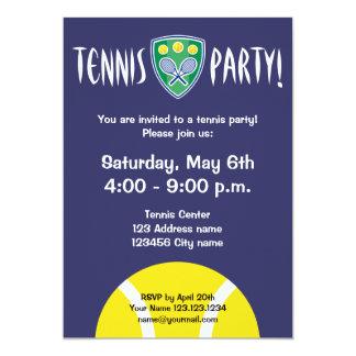 Tennis party invitations | celebration invites