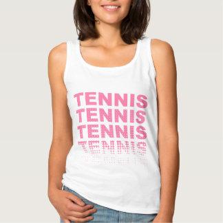 Tennis pink lover tank top