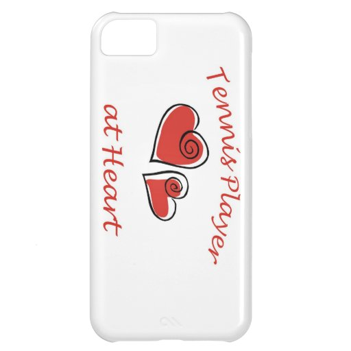 Tennis Player at Heart iPhone 5C Covers