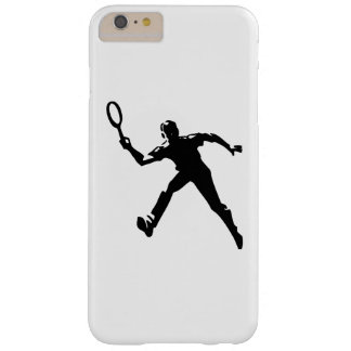 Tennis Player Barely There iPhone 6 Plus Case
