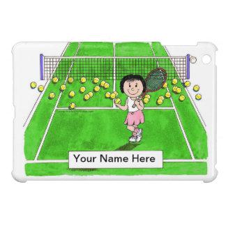 Tennis Player, Female Case For The iPad Mini