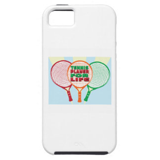 Tennis player for life iPhone 5 case