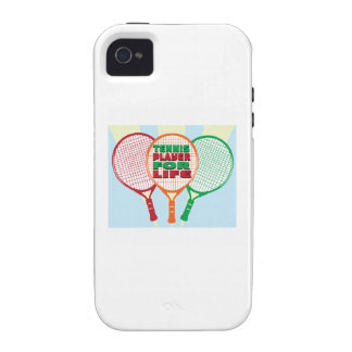 Tennis player for life iPhone 4/4S covers