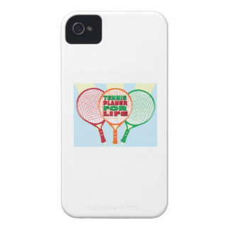 Tennis player for life iPhone 4 cases