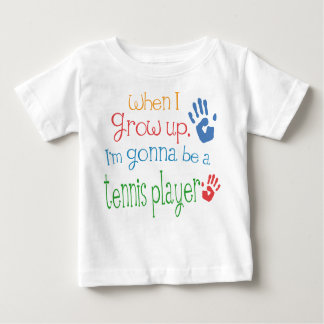 Tennis Player (Future) Infant Baby T-Shirt