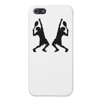 Tennis Player Mirror Image iPhone 5 Cases