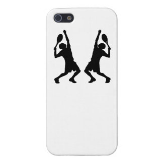Tennis Player Mirror Image iPhone 5/5S Covers