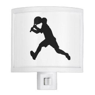 """Tennis Player"" Night Light"