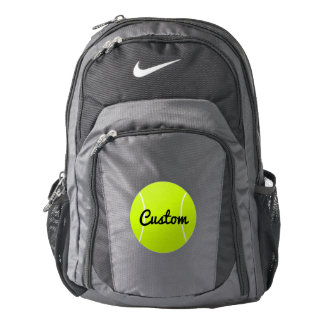 Tennis Player or Team Custom Text Backpack