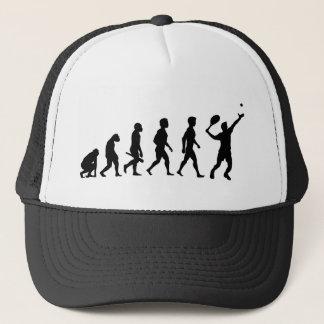 Tennis player tennis player tennis ball ball Evolu Trucker Hat