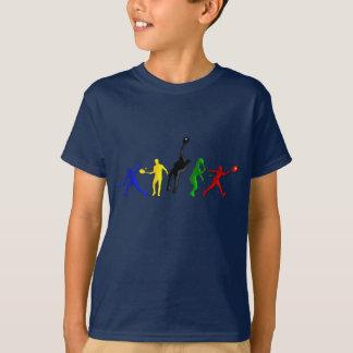 Tennis players Ball Tennis Coaches Sports T-Shirt