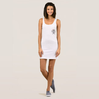 Tennis Players, I Love Tennis Sleeveless Dress