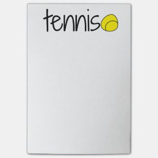 Tennis Post It Notes