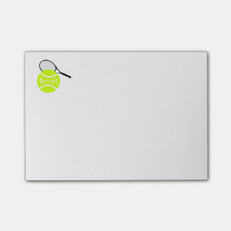 Tennis Post-it Notes