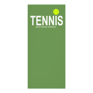 Tennis Rack Card