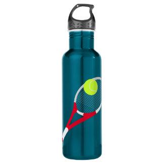 Tennis racket and tennis ball 710 ml water bottle