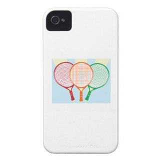 Tennis Racket iPhone 4 Cases