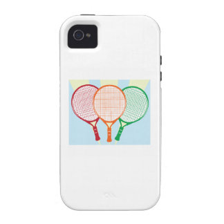 Tennis Racket iPhone 4/4S Cover