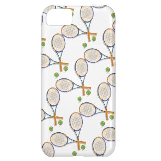 Tennis rackets and balls custom case for iPhone 5C