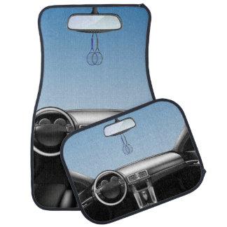 Tennis Rackets Car Dashboard Auto Mat