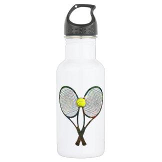 TENNIS RACQUETS & BALL Waterbottle 532 Ml Water Bottle