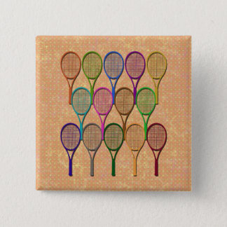 TENNIS RACQUETS IN COLOR Button