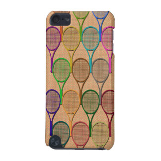 TENNIS RACQUETS IN COLOR iPod Touch Speck Case