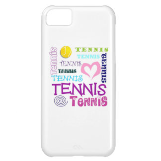 Tennis Repeating iPhone 5C Cover