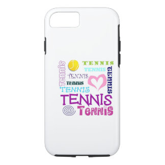 Tennis Repeating iPhone 7 Case