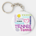 Tennis Repeating Keychain