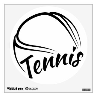 Tennis Round Wall Decal