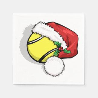 Tennis Santa Cap Disposable Napkin