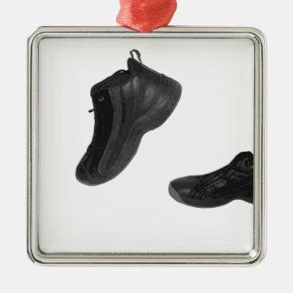 tennis shoe metal ornament