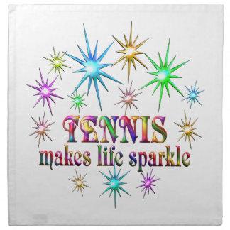 Tennis Sparkles Napkin