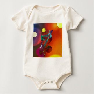 Tennis sport have a party today baby bodysuit