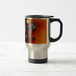 Tennis sport have a party today travel mug