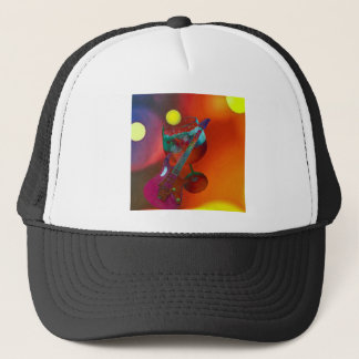 Tennis sport have a party today trucker hat