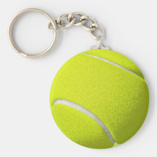 Tennis Sports Ball Keychain