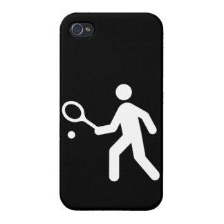 Tennis Symbol iPhone 4/4S Cases