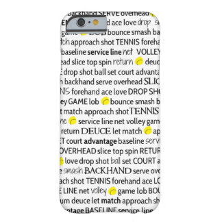 Tennis Terms iPhone 6 Case Barely There iPhone 6 Case